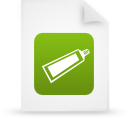 file document paper green g14375 Png Icon