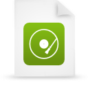 file document paper green g14391 Png Icon