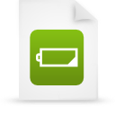 file document paper green g14594 Png Icon
