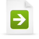file document paper green g14772 Png Icon