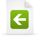 file document paper green g14808 Png Icon