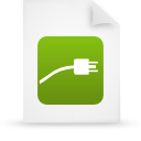 file document paper green g14840 Png Icon