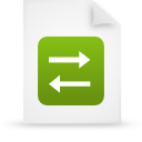 file document paper green g14852 Png Icon
