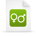 file document paper green g14881 Png Icon