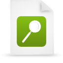 file document paper green g14989 Png Icon