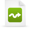 file document paper green g15006 Png Icon