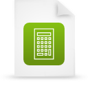 file document paper green g15112 Png Icon