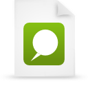 file document paper green g15124 Png Icon