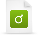 file document paper green g15127 Png Icon