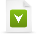 file document paper green g15267 Png Icon