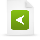 file document paper green g15291 Png Icon