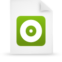 file document paper green g16265 Png Icon
