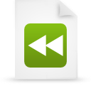 file document paper green g17253 Png Icon
