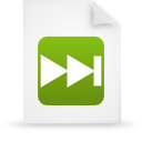 file document paper green g17332 Png Icon
