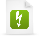 file document paper green g18347 Png Icon