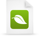 file document paper green g18359 Png Icon