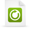 file document paper green g18390 Png Icon