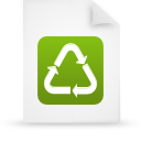 file document paper green g18935 Png Icon