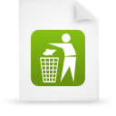 file document paper green g19130 Png Icon