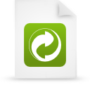 file document paper green g19481 Png Icon