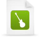 file document paper green g19646 Png Icon