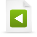 file document paper green g20802 Png Icon