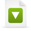 file document paper green g20826 Png Icon