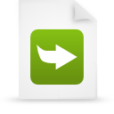 file document paper green g21046 Png Icon