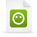 file document paper green g21210 Png Icon