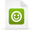 file document paper green g21229 Png Icon