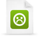 file document paper green g21251 Png Icon