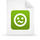 file document paper green g21273 Png Icon