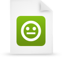 file document paper green g21299 Png Icon