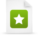 file document paper green g21455 Png Icon
