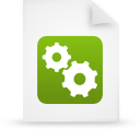 file document paper green g21510 Png Icon