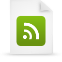 file document paper green g21573 Png Icon