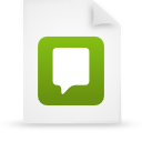 file document paper green g21743 Png Icon
