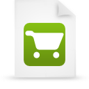 file document paper green g21761 Png Icon