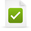 file document paper green g38055 Png Icon