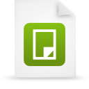 file document paper green g38462 Png Icon