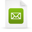 file document paper green g38856 Png Icon