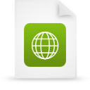 file document paper green g38942 Png Icon