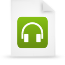 file document paper green g39009 Png Icon