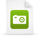 file document paper green g39046 Png Icon