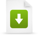 file document paper green g39210 Png Icon