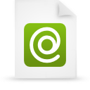 file document paper green g9432 Png Icon