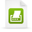 file document paper green g9482 Png Icon