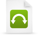 file document paper green g9806 Png Icon