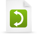 file document paper green g9854 Png Icon