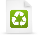 file document paper green g9937 Png Icon